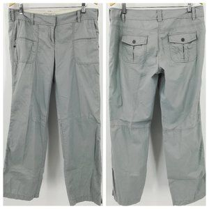 Ann Taylor Loft Gray Pants Size 10 Flap Pockets